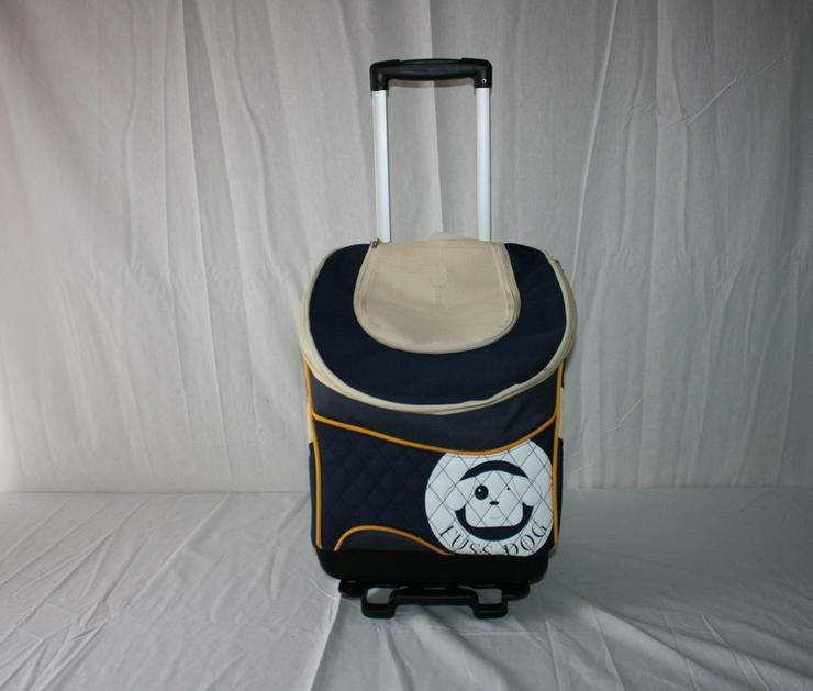 Hunde Trolley Pet Bag blau