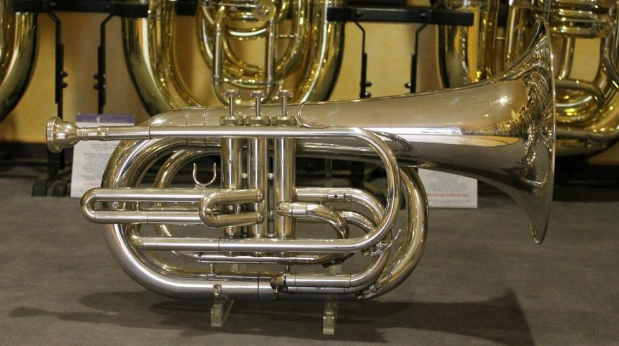 Bild 6: Yamaha Basstrompete in Bb. Mod. YBH 301 MS