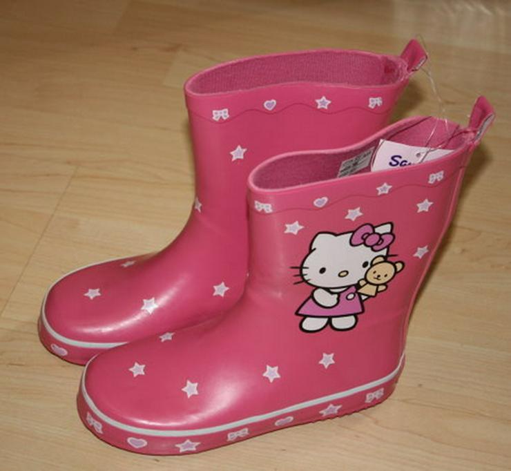 Hello Kitty Kinder Gummistiefel pink Gr. 31 NEU - Größe 31 - Bild 1