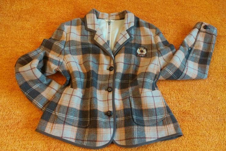 Damen Jacke Designer Woll Blazer weich Gr.46 - Größen 44-46 / L - Bild 1