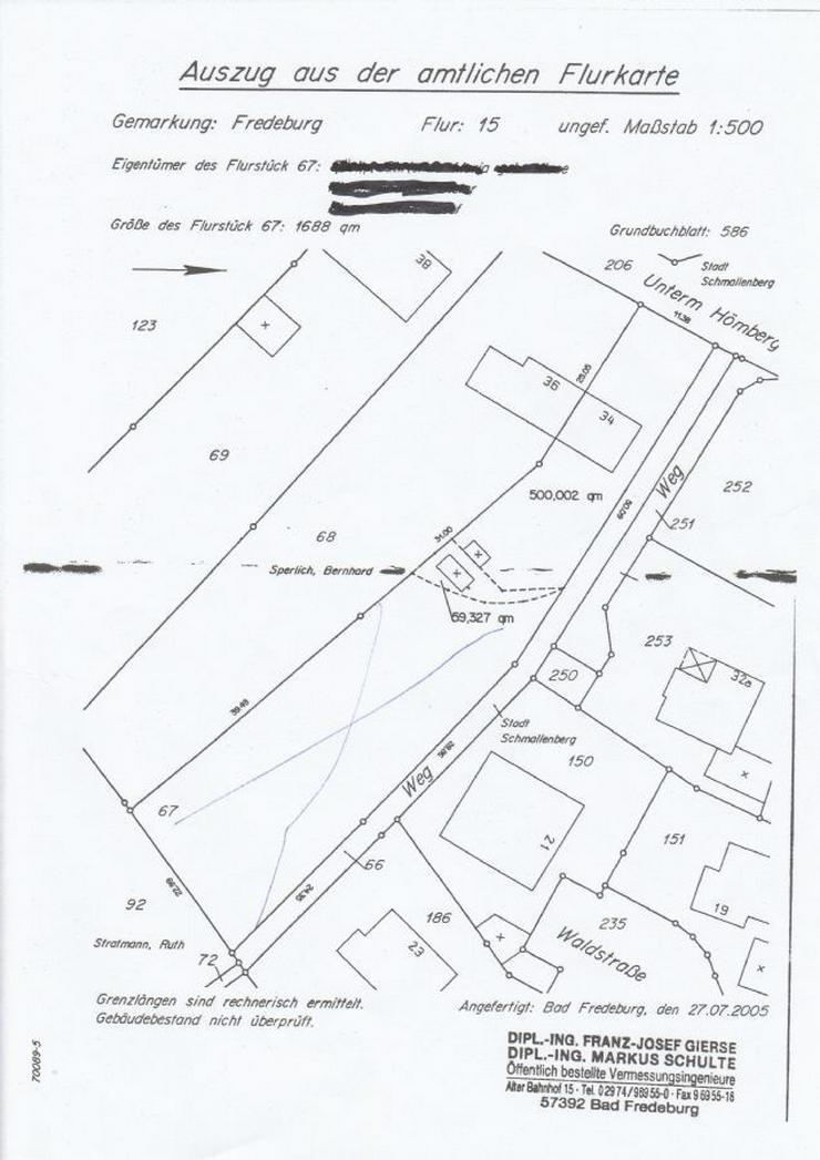 Bild 3: Grundstück in Bad Fredeburg