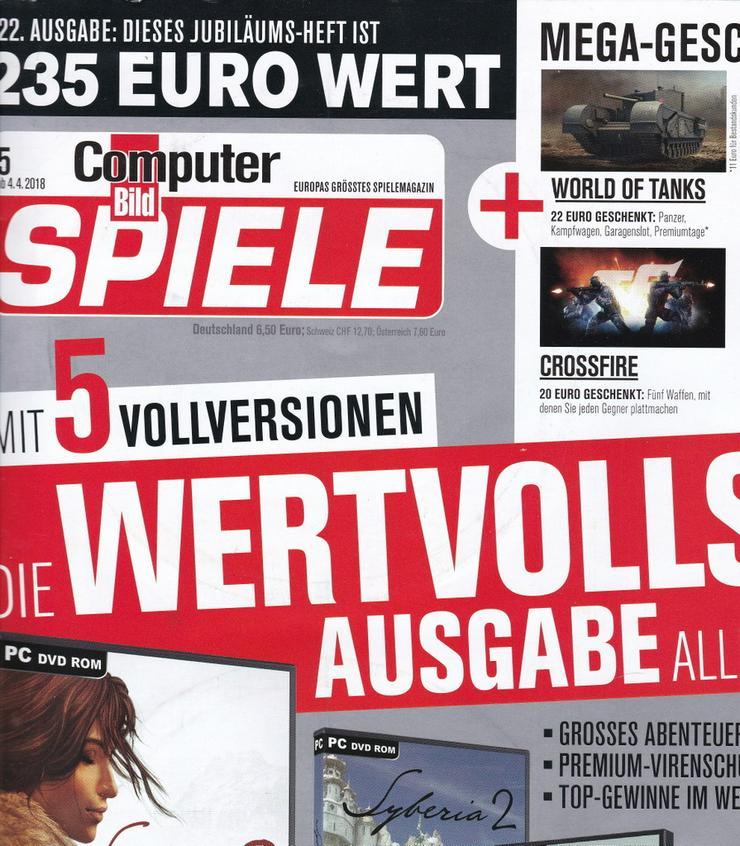 Computer Bild Spiele - Hefte und DVDs  (1Jahr)