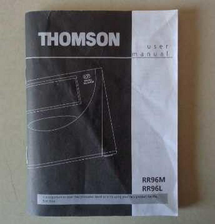 Bedienungsanleitung: THOMSON RR96M Radiowecker