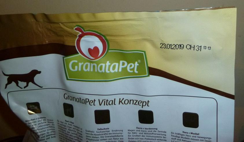 Bild 2: 2 kg Granatapet