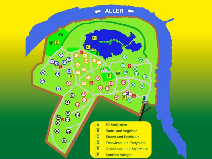 Bild 4: Lust auf großen Naturcamping in Hambühren? - der idyllische Dauercampingplatz im Grünen