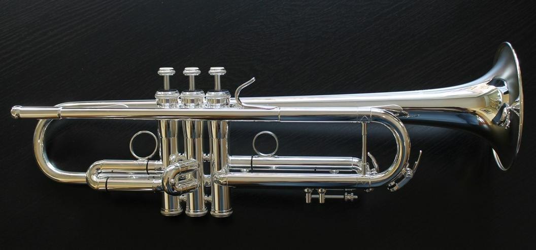 K & H Sella S Trompete in B versilbert, NEU - Blasinstrumente - Bild 1