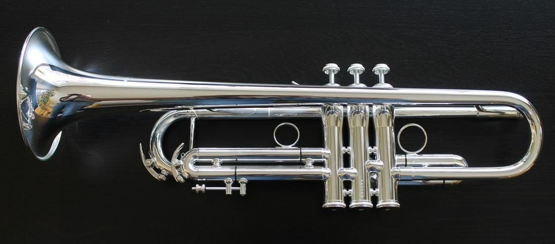 Bild 2: K & H Sella S Trompete in B versilbert, NEU