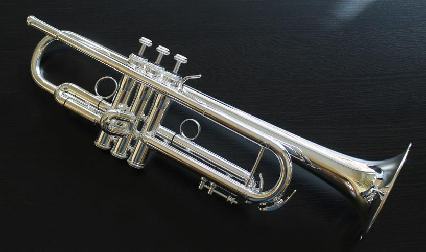 Bild 3: K & H Sella S Trompete in B versilbert, NEU