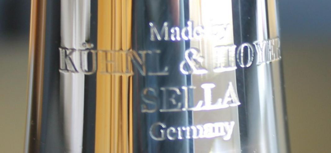 Bild 4: K & H Sella S Trompete in B versilbert, NEU