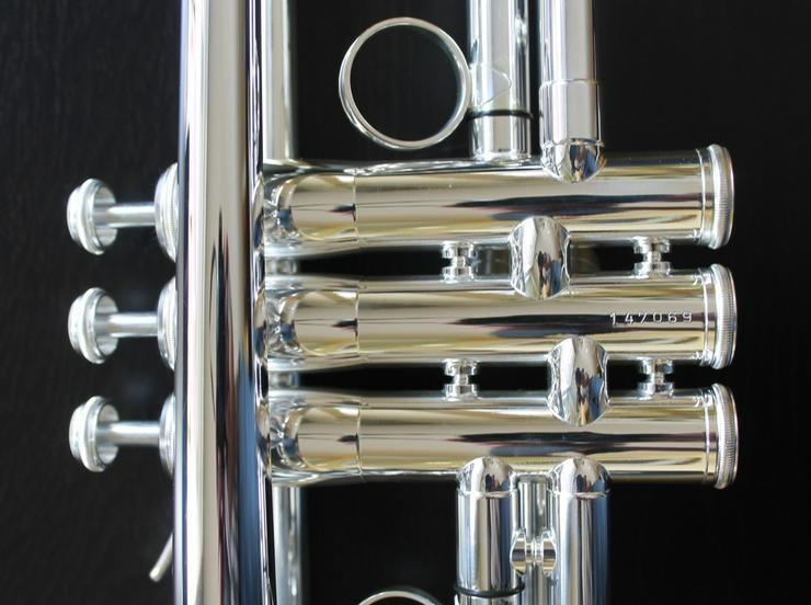 Bild 5: K & H Sella S Trompete in B versilbert, NEU