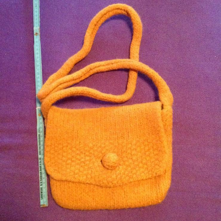 Handtasche aus Filzwolle