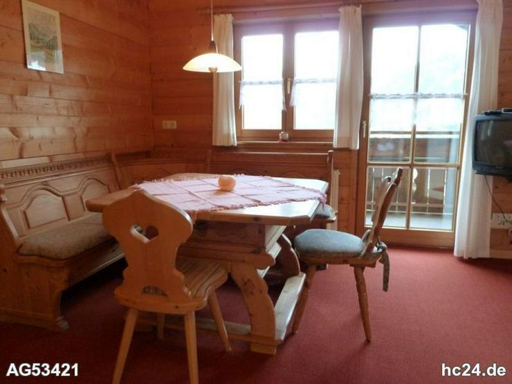 Möbl. 2-Zi. Einlieger Wohnung mit gr. Balkon in Sonthofen Tiefenbach - Bild 1