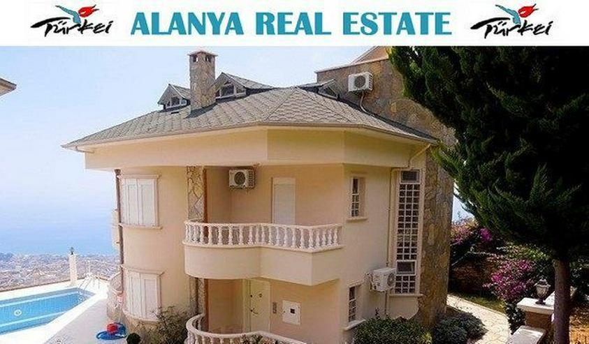 Elit II Luxus Villa mit traumhaftem Panorama Meerblick über Alanya - Haus kaufen - Bild 1