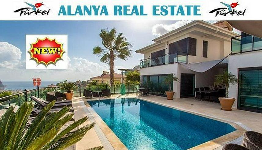 Super Luxus Villa mit Panorama Meerblick in Alanya Tepe