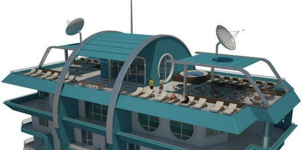 Bild 2: == ALANYA IMMOBILIE == REDUZIERT ! 2+1 Wohnung in Super Luxusresidenz