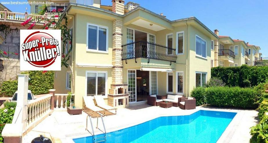 Bild 2: == ALANYA IMMOBILIE == Preis Knüller Villa mit privatem Pool in Kargicak