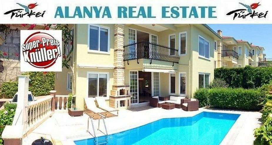== ALANYA IMMOBILIE == Preis Knüller Villa mit privatem Pool in Kargicak - Haus kaufen - Bild 1