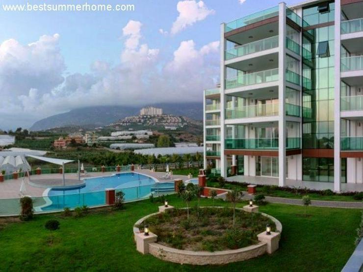 Bild 2: == ALANYA IMMOBILIE == Neue Luxus-Wohnungen mit tollem Meerblick