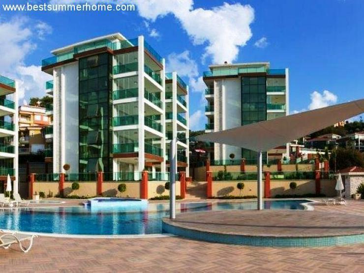 Bild 4: == ALANYA IMMOBILIE == Neue Luxus-Wohnungen mit tollem Meerblick