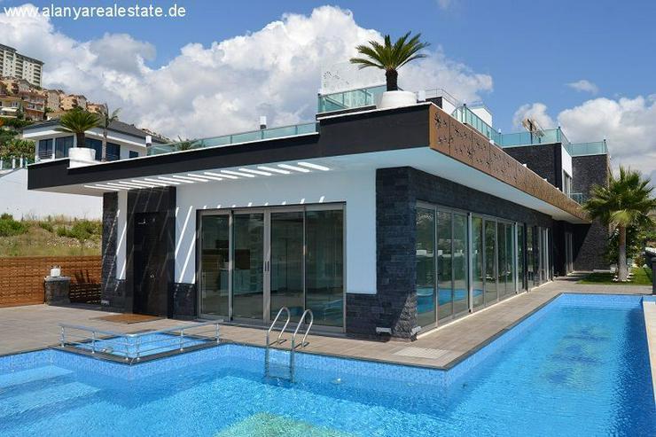 Bild 6: Super Luxus Villa mit privat Pool und Meerblick in Alanya Kargicak