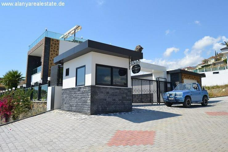 Bild 3: Super Luxus Villa mit privat Pool und Meerblick in Alanya Kargicak