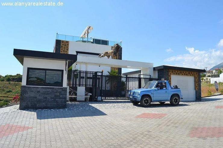 Bild 2: Super Luxus Villa mit privat Pool und Meerblick in Alanya Kargicak
