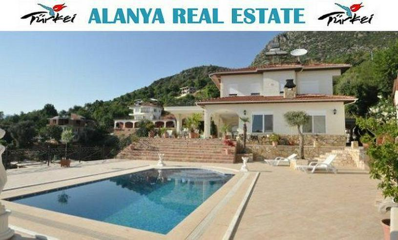 SCHNÄPPCHEN ! Großes Anwesen in Alanya Kestel mit privat Pool und extra Bungalow