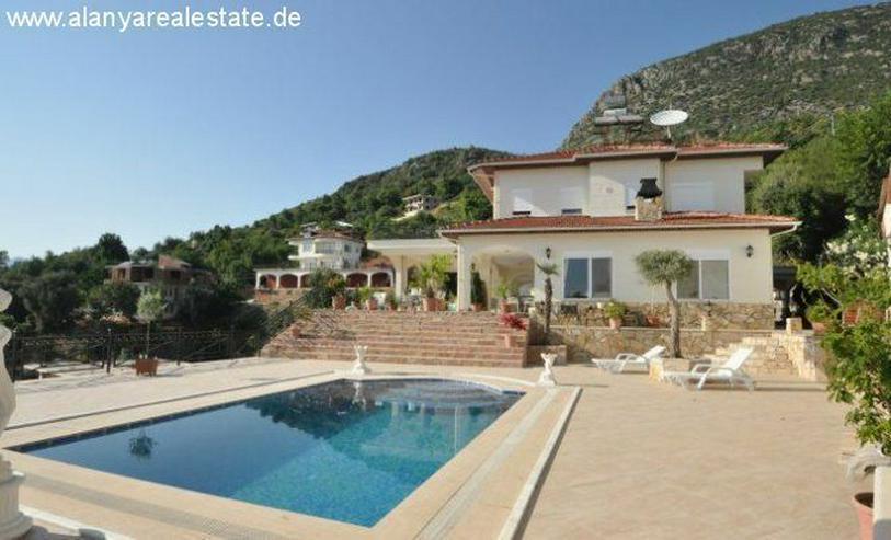 Bild 2: SCHNÄPPCHEN ! Großes Anwesen in Alanya Kestel mit privat Pool und extra Bungalow