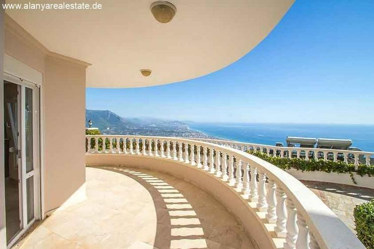 Bild 4: Drei Zimmer voll Panorama Meerblick Wohnung mit Pool in den Bergen von Alanya