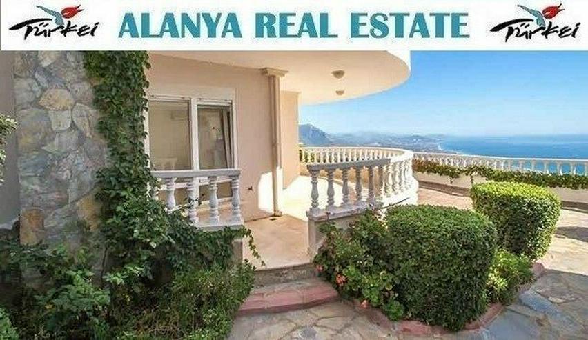 Drei Zimmer voll Panorama Meerblick Wohnung mit Pool in den Bergen von Alanya - Wohnung kaufen - Bild 1