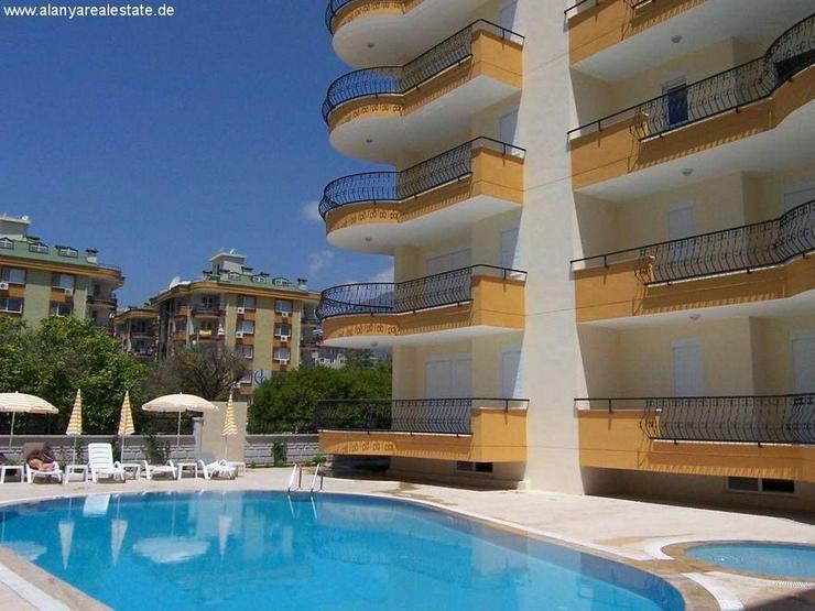 Bild 2: Voll möblierte 3 Zimmer Wohnung mit Pool in Alanya Oba nur 200m zum Strand