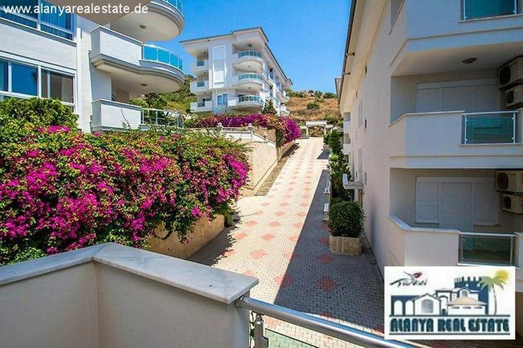 Bild 6: Schön möblierte 2+1 Luxus Wohnung mit tollem Meerblick am Kleopatra Strand!