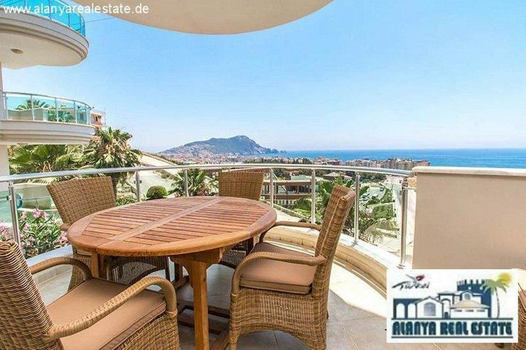 Schön möblierte 2+1 Luxus Wohnung mit tollem Meerblick am Kleopatra Strand! - Wohnung kaufen - Bild 1