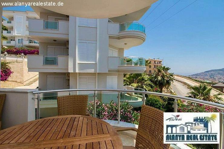 Bild 4: Schön möblierte 2+1 Luxus Wohnung mit tollem Meerblick am Kleopatra Strand!