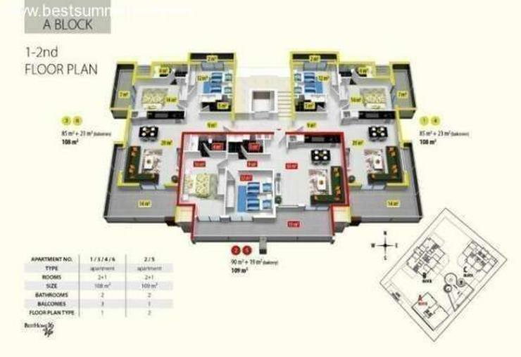 Bild 5: ***ALANYA REAL ESTATE*** Besthome 16 Residence, Oba,Alanya