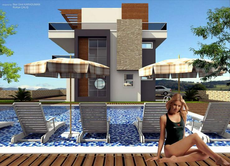 ***ALANYA REAL ESTATE*** Top moderne Luxusvillen in Alanya / Konakli - Auslandsimmobilien - Bild 1