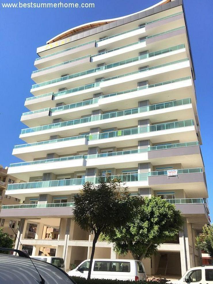 Bild 5: SCHNÄPPCHEN ! Brandneue 1+1 City Wohnung im 8 Stock mit Meerblick nur 350m zum Strand in ...