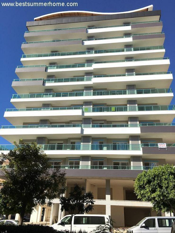 Bild 4: SCHNÄPPCHEN ! Brandneue 1+1 City Wohnung im 8 Stock mit Meerblick nur 350m zum Strand in ...