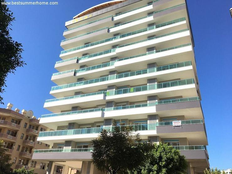 Bild 3: SCHNÄPPCHEN ! Brandneue 1+1 City Wohnung im 8 Stock mit Meerblick nur 350m zum Strand in ...
