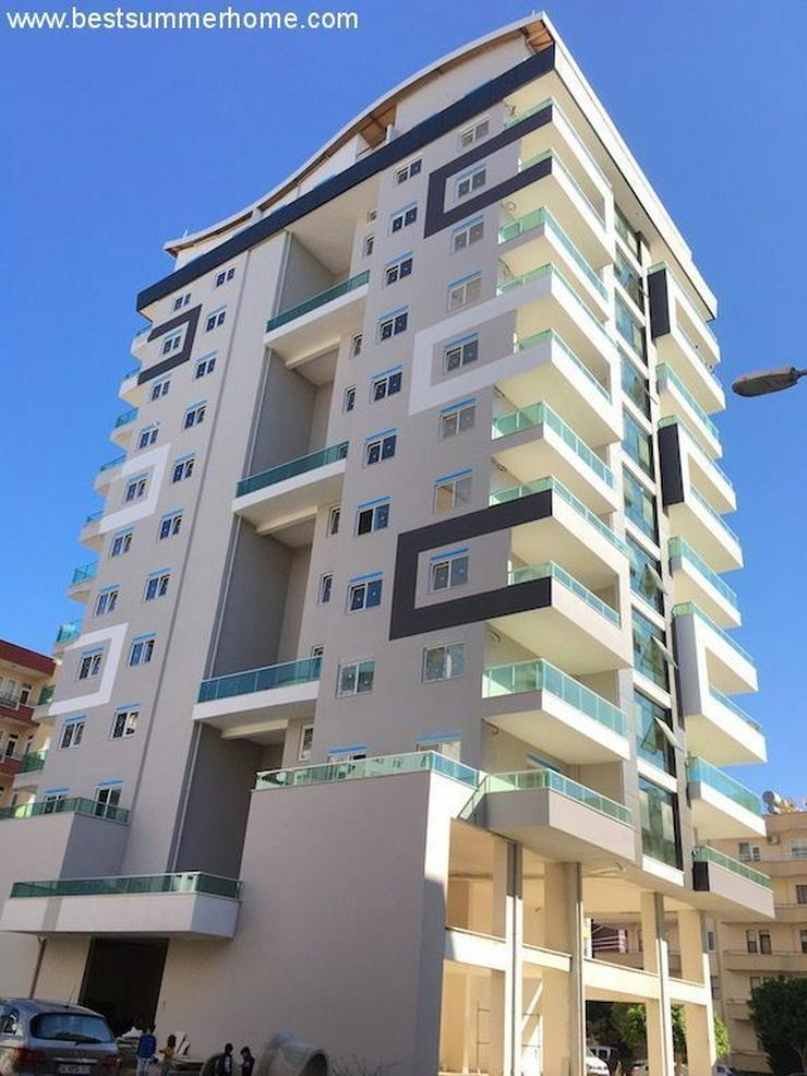 Bild 2: SCHNÄPPCHEN ! Brandneue 1+1 City Wohnung im 8 Stock mit Meerblick nur 350m zum Strand in ...