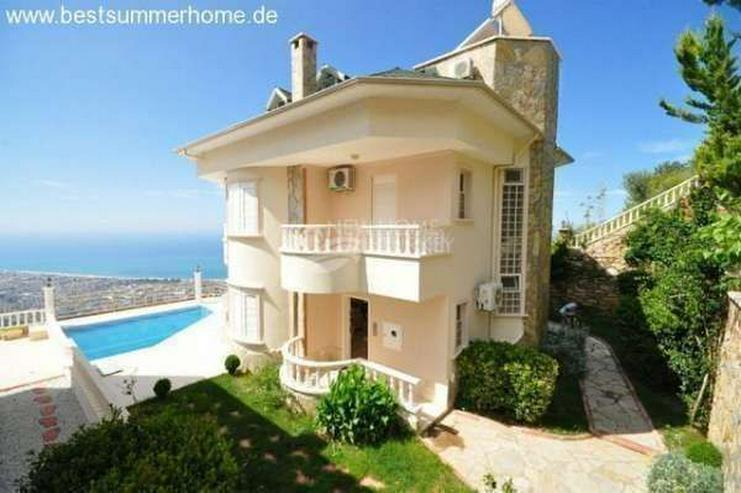 Bild 6: ***KARGICAK IMMOBILIEN***Schön eingerichtete Luxus-Villa mit freiem Blick auf Das Mittelm...
