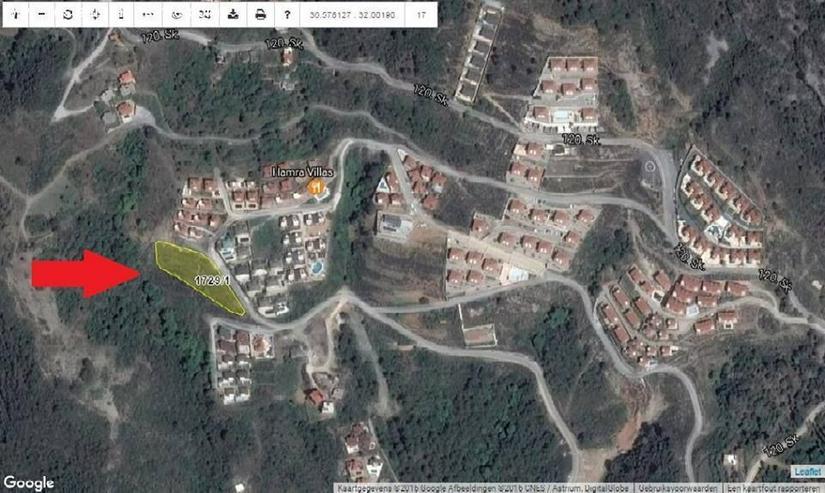 Bild 4: Baugrundstück in Alanya Bektas in aller bester Lage mit Baugenehmigung und Bauprojekt fü...