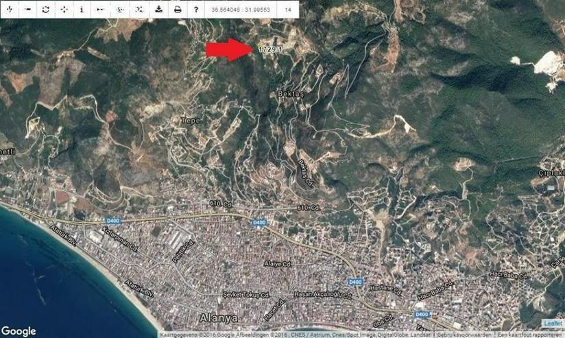 Bild 3: Baugrundstück in Alanya Bektas in aller bester Lage mit Baugenehmigung und Bauprojekt fü...
