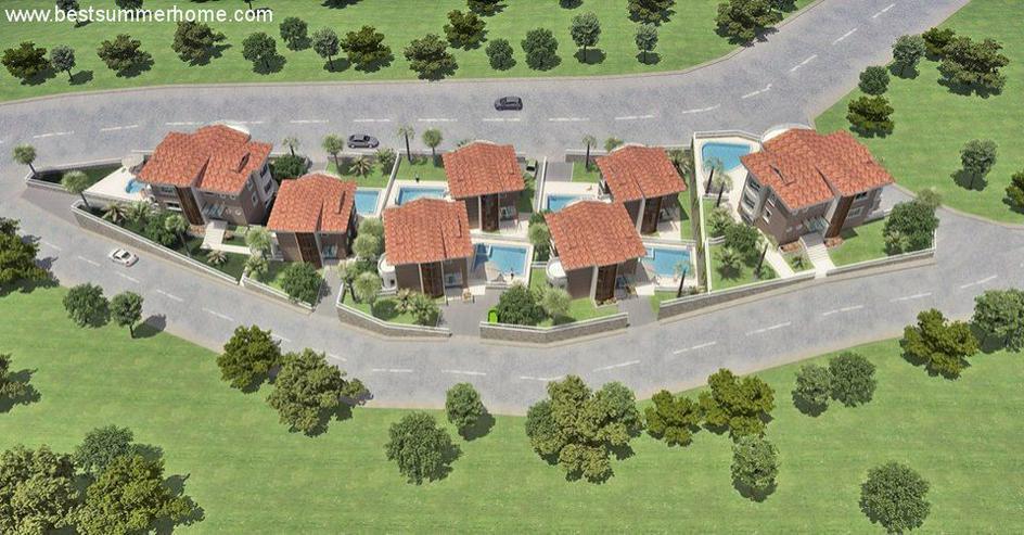 Bild 6: Baugrundstück in Alanya Bektas in aller bester Lage mit Baugenehmigung und Bauprojekt fü...