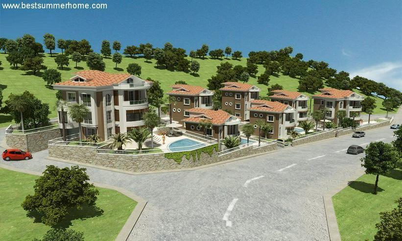 Bild 2: Baugrundstück in Alanya Bektas in aller bester Lage mit Baugenehmigung und Bauprojekt fü...
