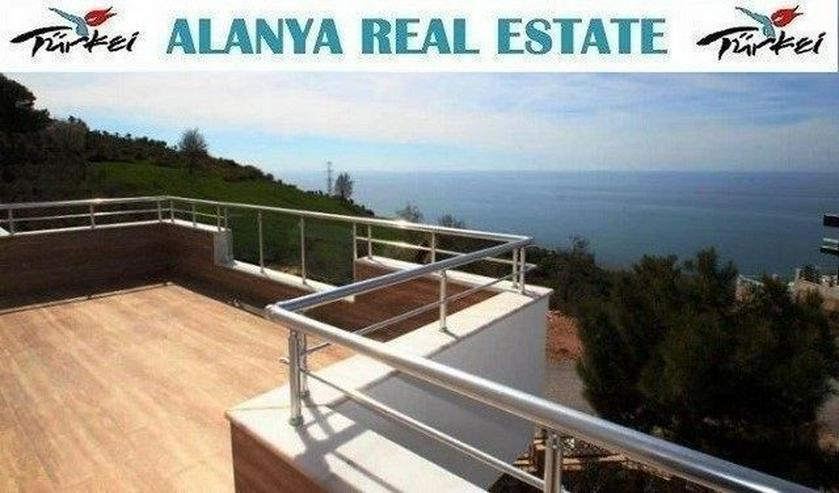***ALANYA REAL ESTATE*** Exklusive Villa mit fantastischem Meerblick! - Auslandsimmobilien - Bild 1