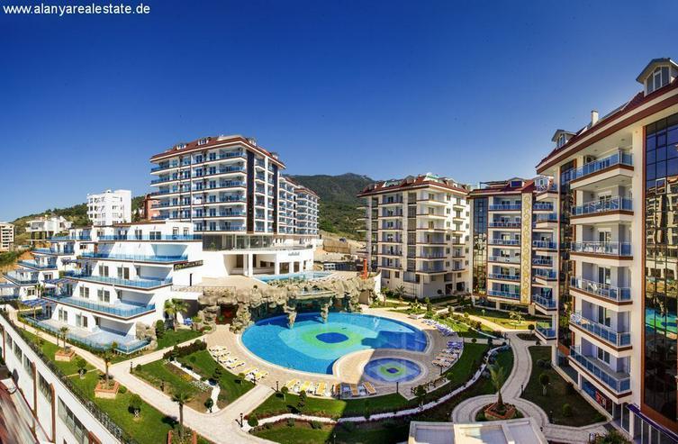 ***ALANYA REAL ESTATE*** Wohnungen mit exzellentem Blick über Alanya in Luxus Residenz - Bild 1