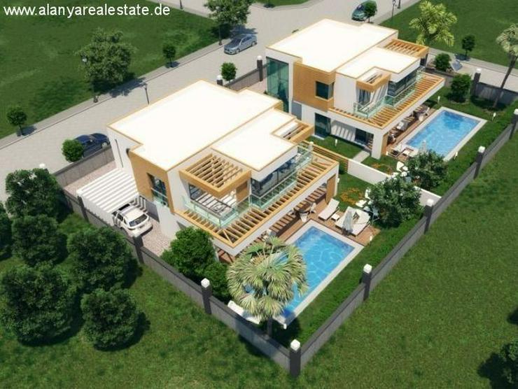 ***ALANYA REAL ESTATE*** Neues Luxus Golf Villen Projekt in Alanya Kargicak. - Auslandsimmobilien - Bild 1
