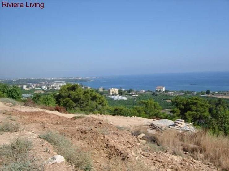 Bild 3: Grundstück mit unverbaubarem Meerblick in Incekum