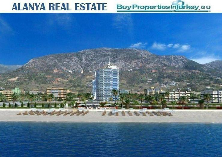 == ALANYA IMMOBILIE == Luxusanlage in Mahmutlar in direkter Strandnähe - Auslandsimmobilien - Bild 1